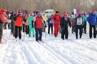 11.02.2018 года прошли Всероссийские массовые лыжные гонки «Лыжня России - 2018»