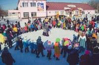 18 февраля на территории перед районным домом культуры Агаповского района прошло празднование масленицы