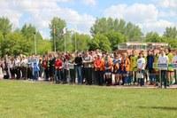 24 июня 2018 года в с. Агаповка прошли зональные соревнования 41-х областных сельских спортивных игр «Золотой колос»