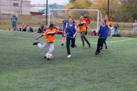 Школьники Агаповского района сделали «Шаг к большому футболу»