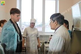 Агаповский район посетил Министр здравоохранения региона Юрий Семенов
