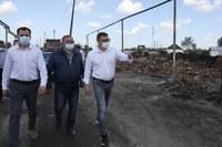 Алексей Текслер посетил поселки Джабык и Запасное Карталинского района