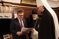 Алексей Текслер провел встречу с митрополитом Челябинским и Миасским Алексием