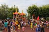 Новая детская площадка для детей Агаповки. Реализация проекта «Городская среда».