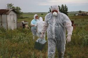 В Агаповском районе прошли учения по ликвидации гриппа птиц