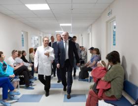 Более 140 млрд. рублей направлено на развитие здравоохранения в области