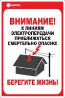 Информация о нарушениях при производстве работ в охранных зонах ЛЭП