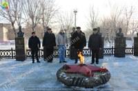 Почтили память погибших воинов в День Неизвестного Солдата...