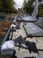 Реконструкция памятника воинам ВОв в п. Желтинский