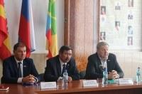 Виталий Бахметьев посетил Агаповский район