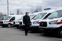 Южноуральские больницы получат 60 единиц медицинского автотранспорта