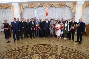Южноуральские металлурги получили награды из рук Алексея Текслера