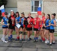 Женская сборная Агаповского района по мини-лапте вновь стала чемпионом области